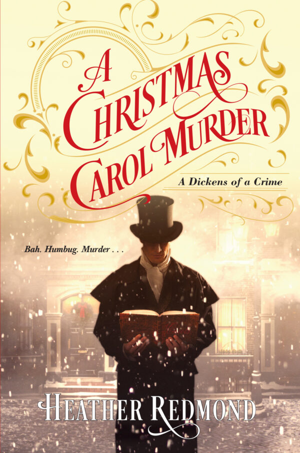Cover to A Christmas Carol Murder by Heather Redmond